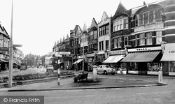 Winchmore Hill, The Broadway c.1962