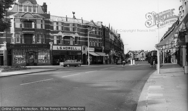 Photo of Winchmore Hill, The Broadway c.1962
