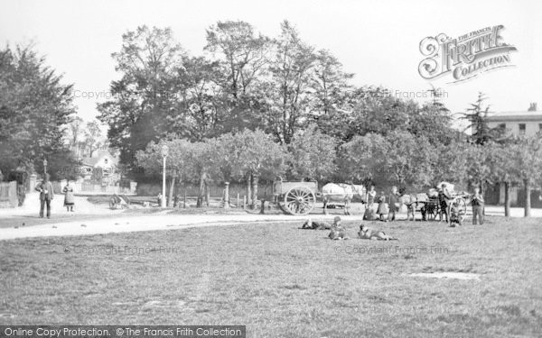 Photo of Winchmore Hill, The Green 1884