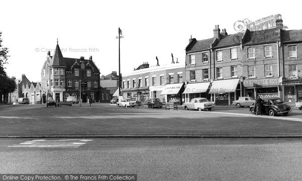 Photo of Winchmore Hill, The Green c.1962
