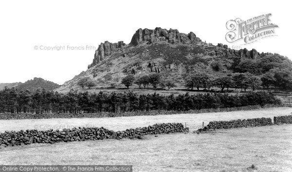 Photo of Wincle, The Roaches c.1955