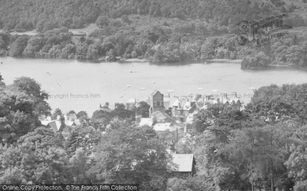 Photo of Windermere, 1929