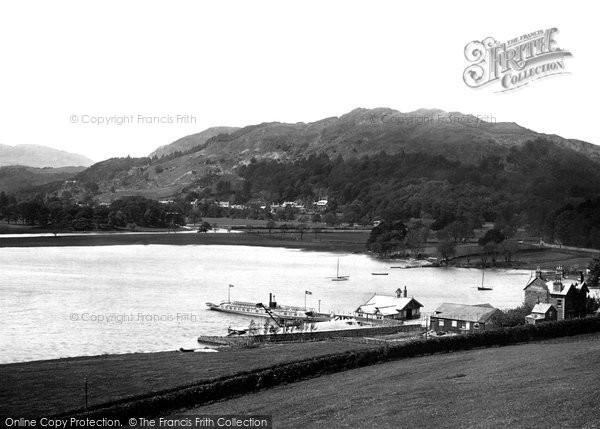 Photo of Windermere, Above Waterhead 1892
