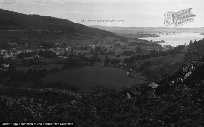 Photo of Windermere, And Ambleside From Loughrigg 1892