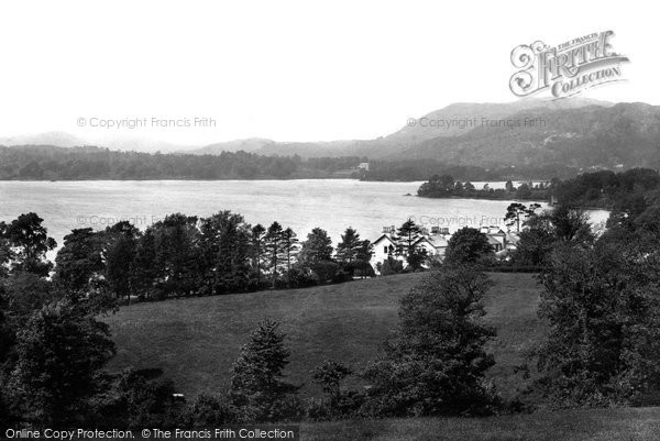 Photo of Windermere, From Above Lowood 1892