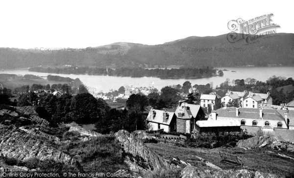 Photo of Windermere, From Biskey Howe 1887