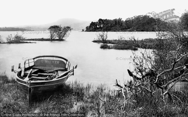 Photo of Windermere, From Calgarth 1887