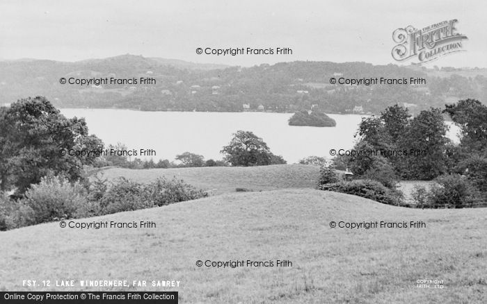 Photo of Windermere, From Far Sawrey c.1960