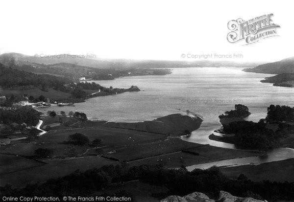 Photo of Windermere, From Loughrigg 1892
