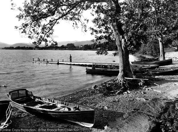 Photo of Windermere, from Miller Ground 1926, ref. 79185