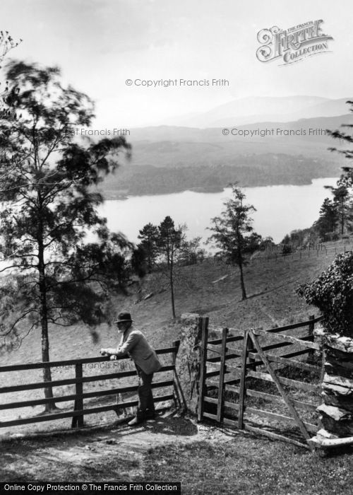 Photo of Windermere, From Near Jenkin Crag 1886