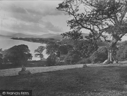 From Queen Adelaide Hill 1926, Windermere