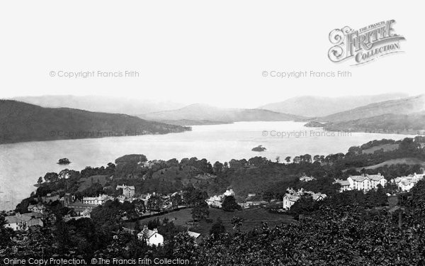 Photo of Windermere, From The Summit 1887