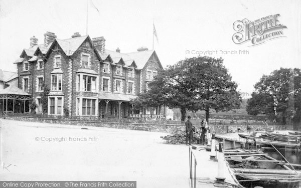 Photo of Windermere, Lake Side Hotel 1887