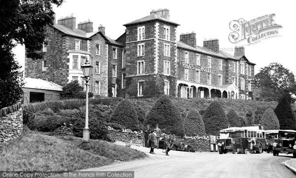 Photo of Windermere, Rigg's Hotel 1929