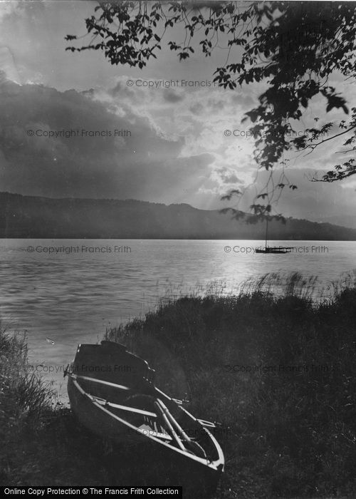 Photo of Windermere, Sunset 1929