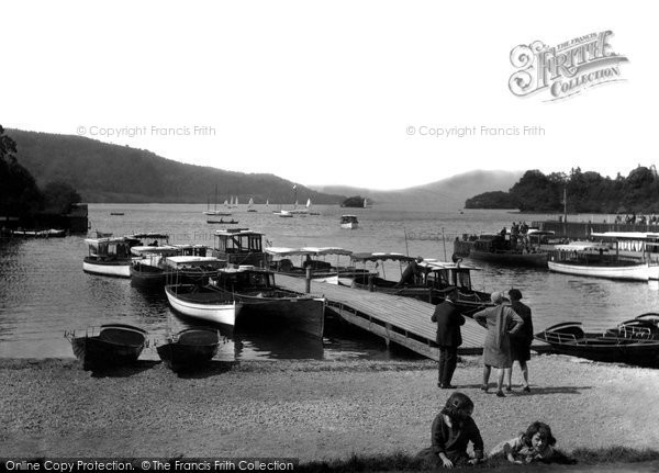 Photo of Windermere, the Lake 1929, ref. 82811
