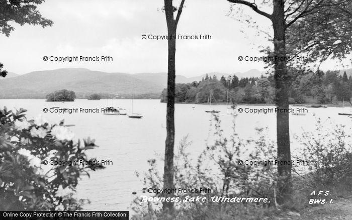 Photo of Windermere, The Lake c.1955