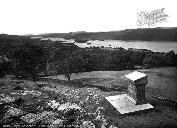 Photo of Windermere, The Lake From Orrest Head 1929