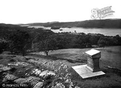 The Lake From Orrest Head 1929, Windermere
