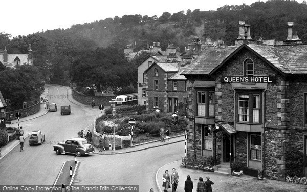 Photo of Windermere, The Queen's Hotel c.1955