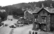 Windermere, the Queen's Hotel c1955