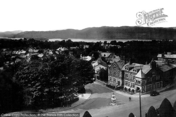 Photo of Windermere, The Village 1929