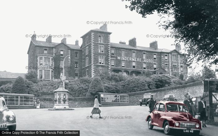 Photo of Windermere, The Windermere Hotel c.1955