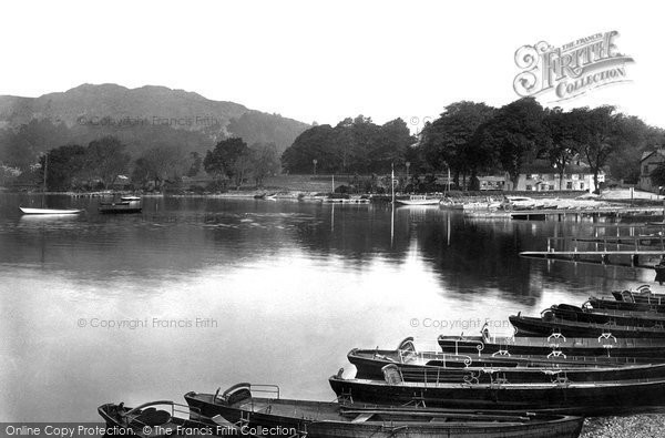 Windermere, Waterhead 1912.  (Neg. 64316)  © Copyright The Francis Frith Collection 2008. http://www.francisfrith.com