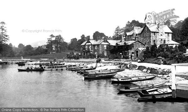 Photo of Windermere, Waterhead Hotel 1887