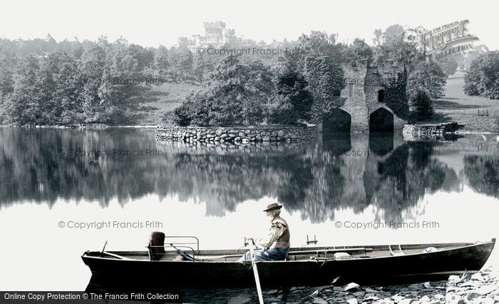 Photo of Windermere, Wray Castle And The Boathouse 1886