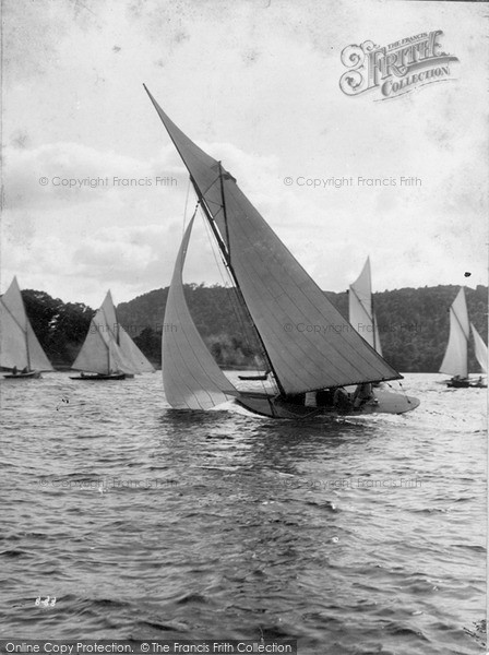 Photo of Windermere, Yachting c.1880