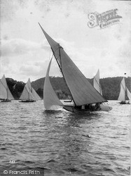 Yachting c.1880, Windermere