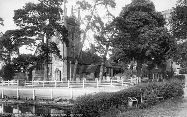Photo of Windlesham, Church 1901