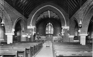Windlesham, Church interior 1903
