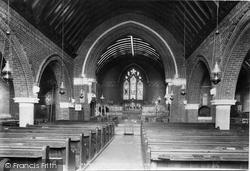 Windlesham, Church Interior 1903
