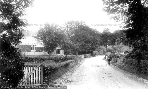 Photo of Windlesham, School Lane 1909