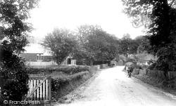 Windlesham, School Lane 1909