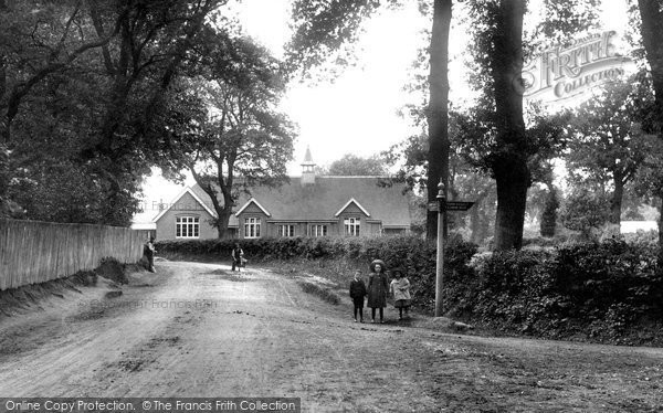 Photo of Windlesham, School Lane 1909