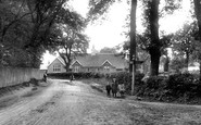 Windlesham, School Lane 1909