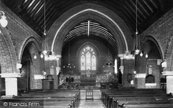 Windlesham, St John The Baptist Church Interior 1909