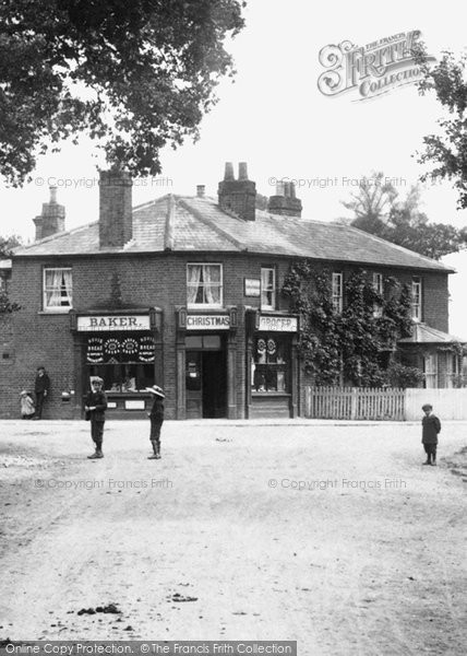 Photo of Windlesham, The Village Shop 1909