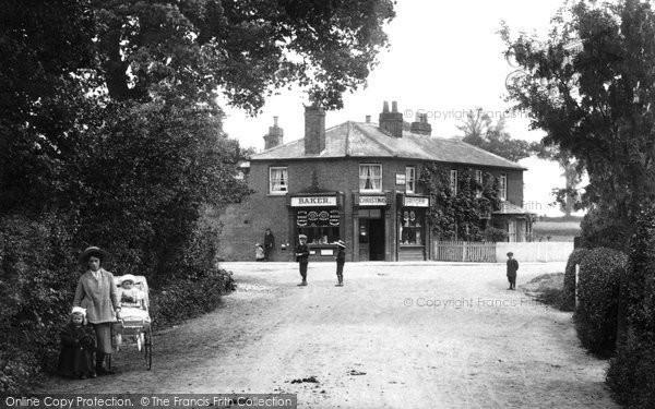 Photo of Windlesham, The Village Shop 1909