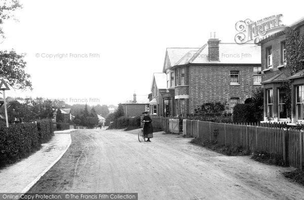Photo of Windlesham, Village And Post Office 1909