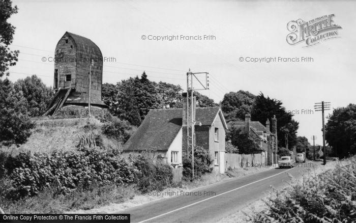 ,Windmill Hill, the Windmill c1955, East Sussex,
