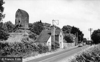 Windmill Hill, the Windmill c1955