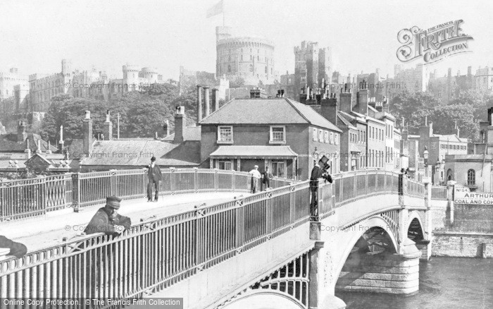 Photo of Windsor, Bridge And Toll House c.1920
