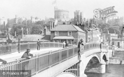 Windsor, Bridge And Toll House c.1920