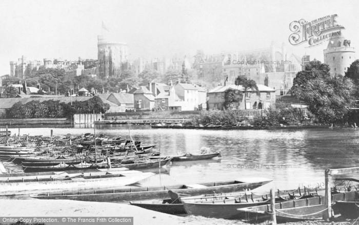 Photo of Windsor, Castle c.1890