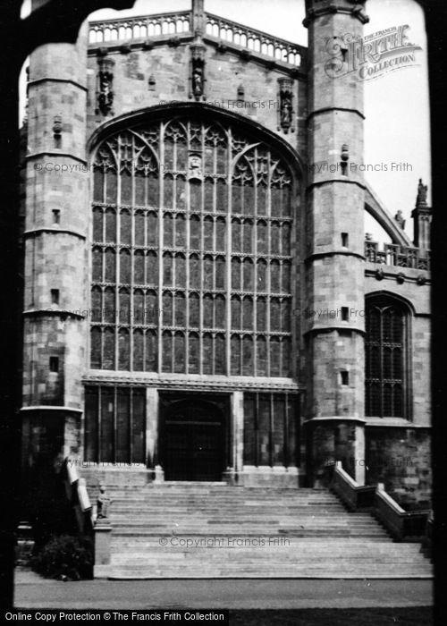 Photo of Windsor, Castle c.1953